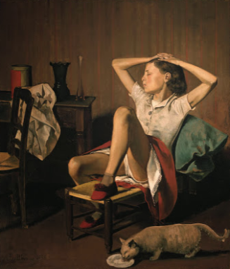 "BALTHUS  ""CATS And GIRLS"""