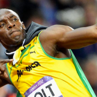 Usain Bolt Wins Olympic Gold