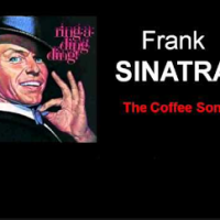 Sinatra Drinks Coffee