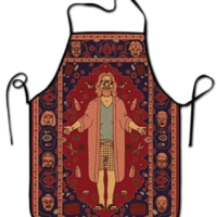 Big Lebowski Cookbook Apron Gift Set