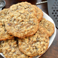 Laura Bush Secret Recipe Cowboy Cookies
